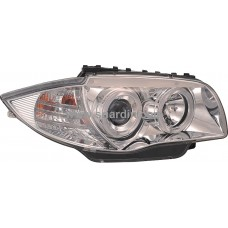 BMW E87 04-06 Chrome Projector Headlamp w Ring