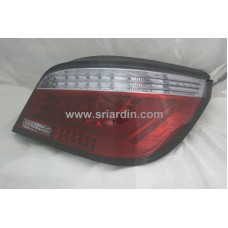 BMW E60 Red Clear Light Bar LED Tail Lamp