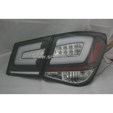 Chevrolet Cruze 09 Black Face Light Bar LED Tail Lamp