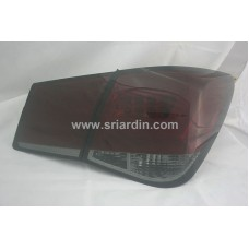 Chevrolet Cruze 09 Red Smoke Light Bar LED Tail Lamp