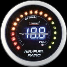 52mm Digital Air Fuel Ratio Meter with Volt