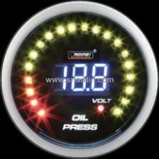 52mm Digital Oil Pressure Meter with Volt