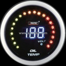 52mm Digital Oil Temp Meter with Volt