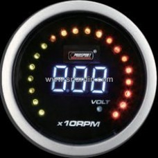 52mm Digital RPM Meter with Volt