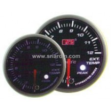 60mm Exhaust Temp Meter w Peak & Warning