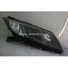 Honda City 15- Black Projector Headlamp w Bar