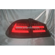 Honda Civic 06-12 Smoke Light Bar LED Tail Lamp