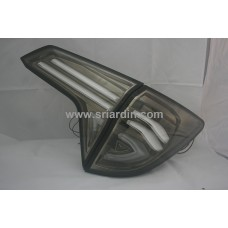 Honda HRV 15- Dark Chrome Clear Light Bar LED Tail Lamp
