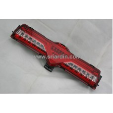 Toyota 86 12- Red Clear Light Bar LED Bumper Lamp