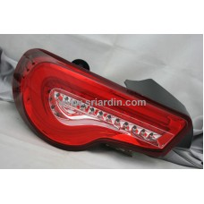 Subaru BRZ / Toyota 86 12- Red Clear Light Bar LED Tail Lamp